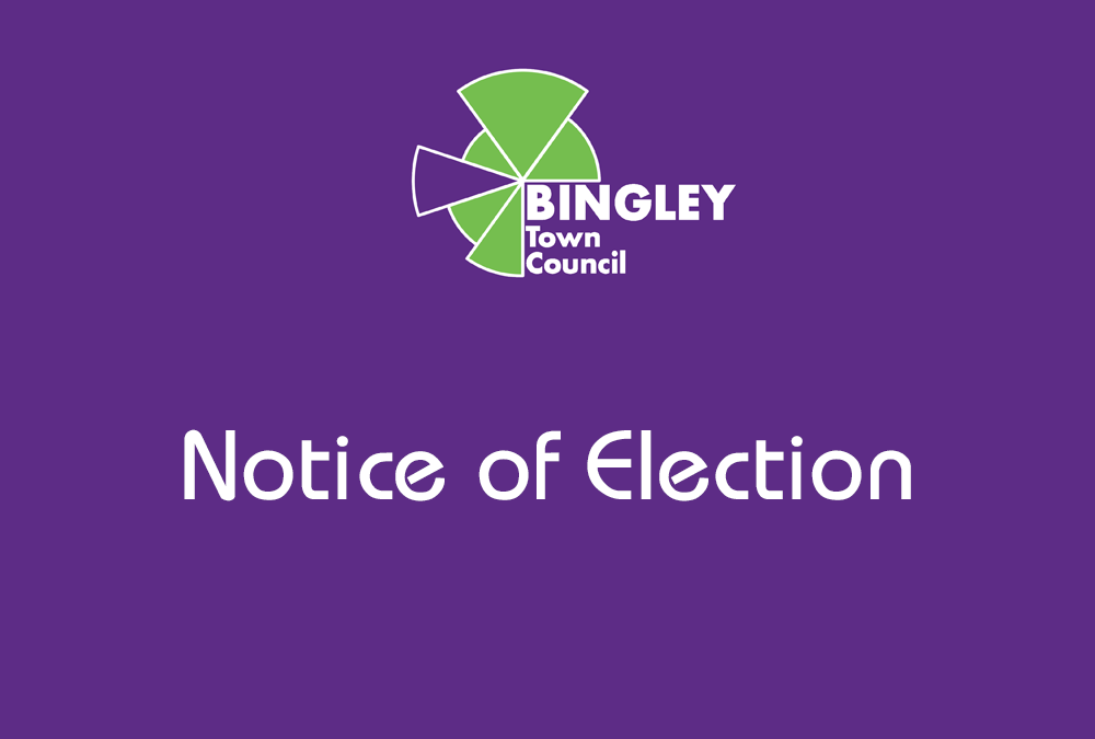 Notice of Election in the Lady Lane & Oakwood Ward