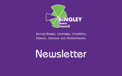 News Digest no. 36 from Bingley Town Council – October 2019