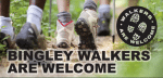 Bingley Walkers are Welcome