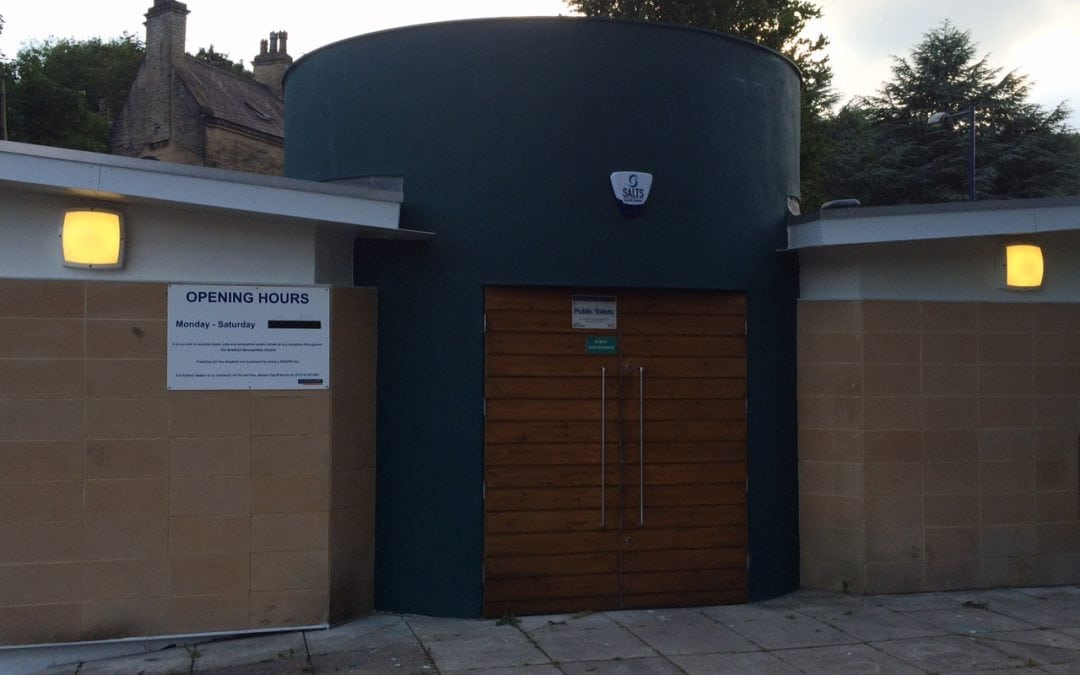 Progress made on public toilets