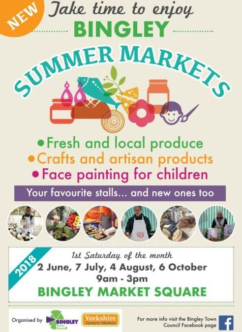 Time to enjoy new summer markets in Bingley
