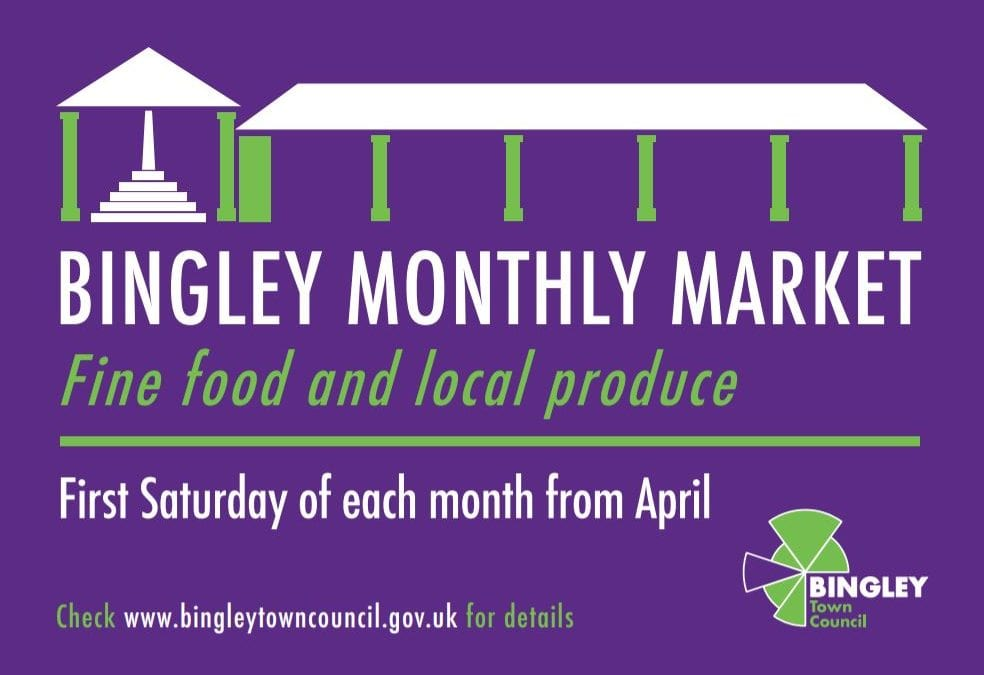 Bingley Market – This Saturday!