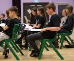 Senior Choir rehearsing