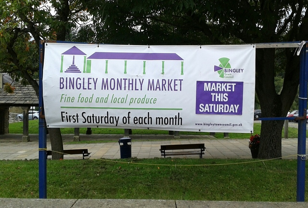 Bingley Monthly Market is back- tomorrow Saturday 5th December