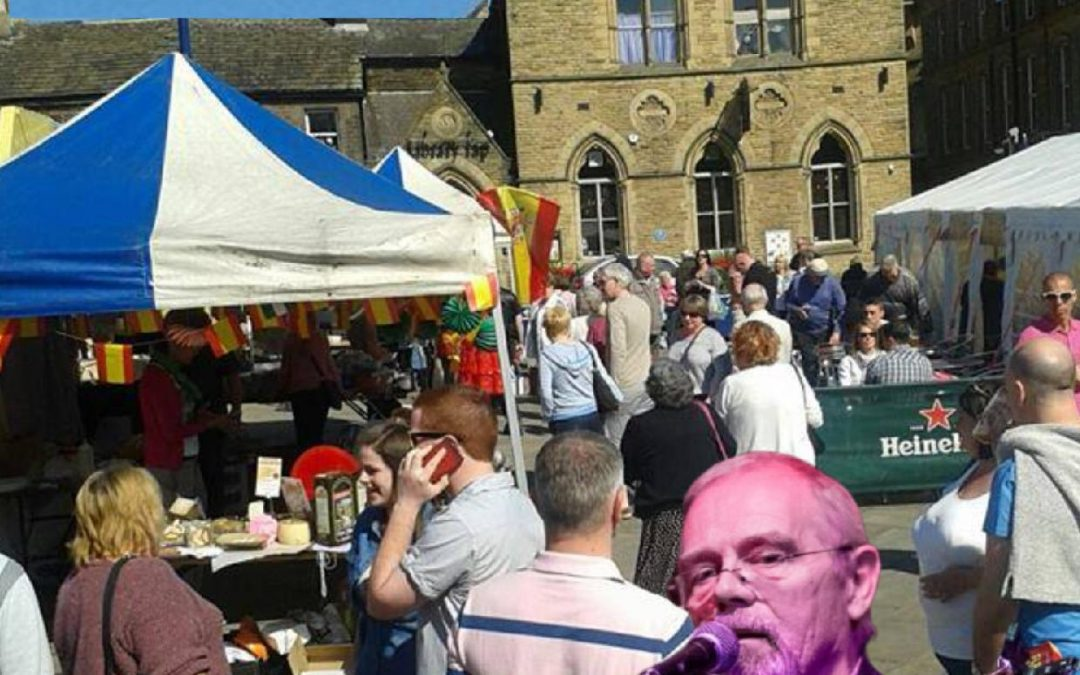 The next Bingley Farmers' Market is on Saturday 7 August. 10am-2pm