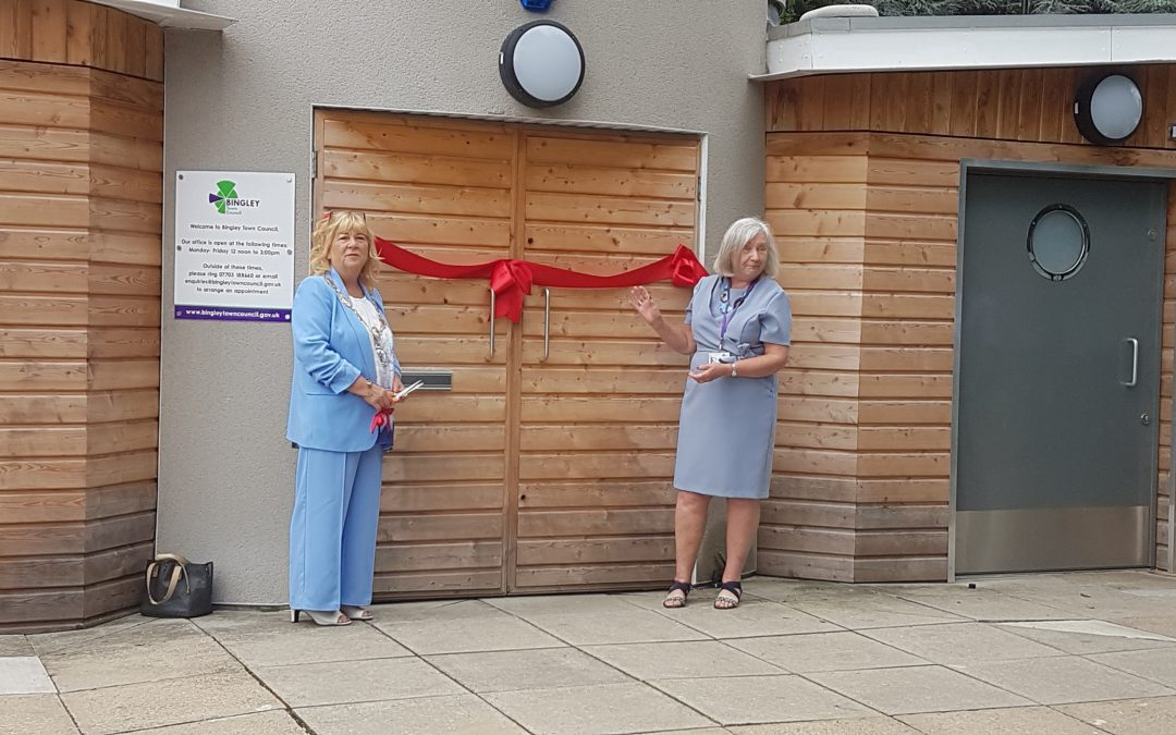 The official opening of The Hub