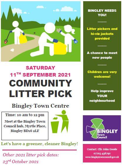Information on community litter pick