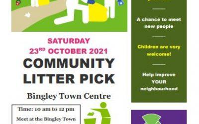 Help Keep Bingley Clean and Tidy